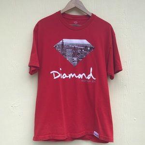 Diamond Supply T in Red. Read Description.